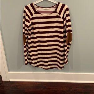 Super cute striped tunic!